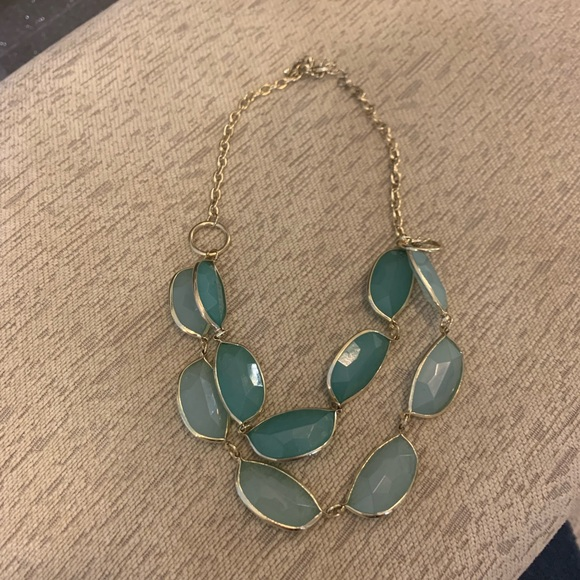 Jewelry - Green fashion necklace. Never worn.
